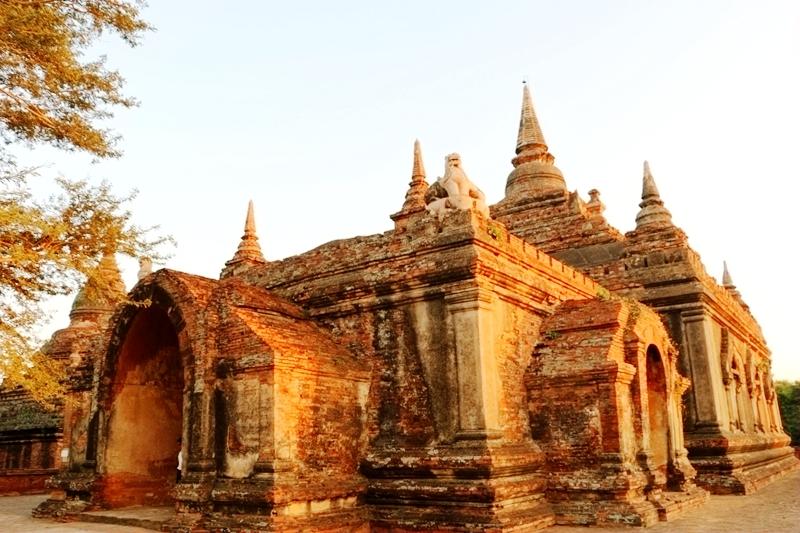 金色缅甸:多少佛塔烟雨中(5)蒲甘朝圣